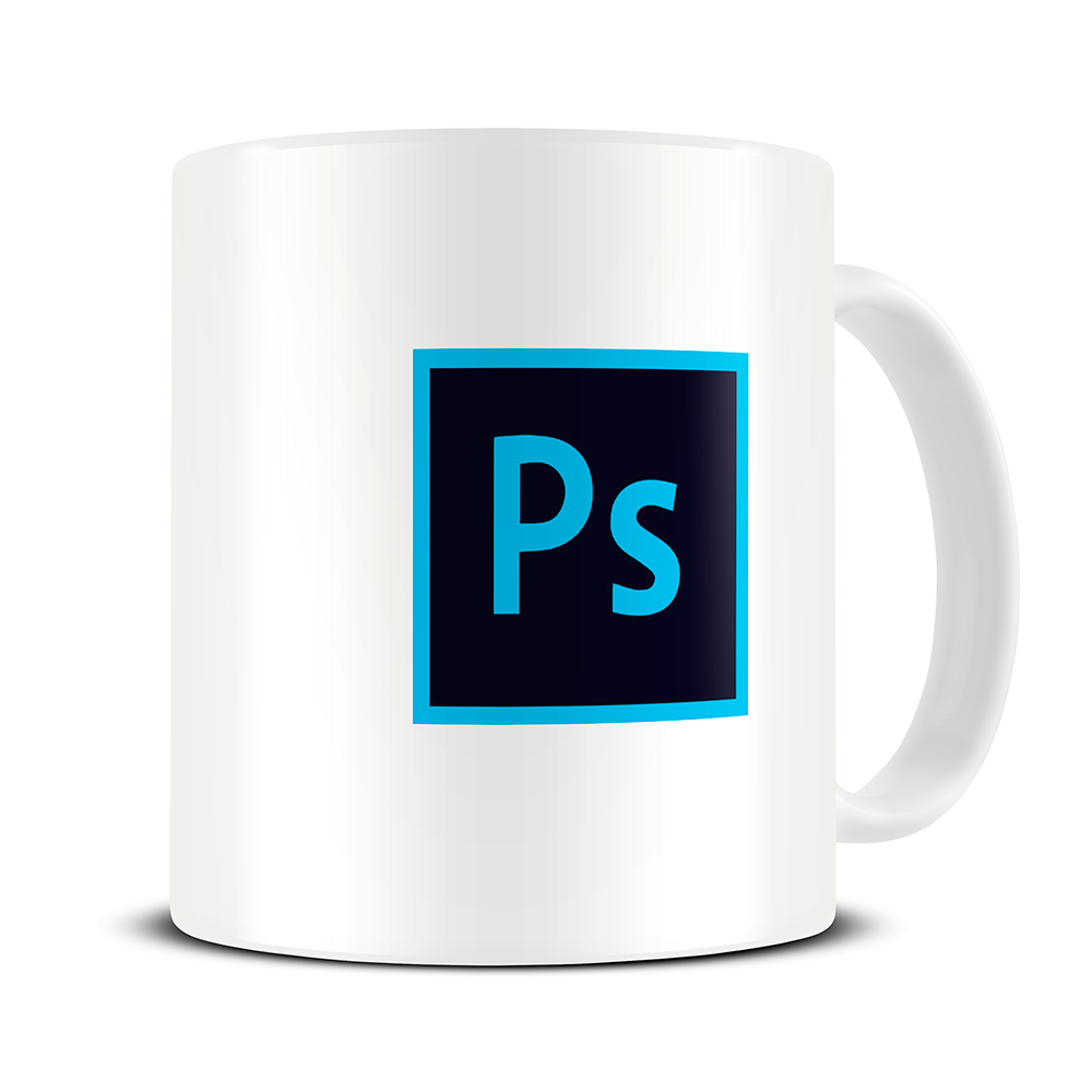 Mug Design Template for Photoshop – Natural Light Design