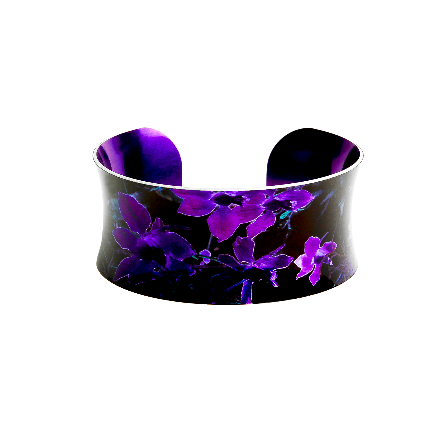 CB18 Wild Meadow Black and Purple 1
